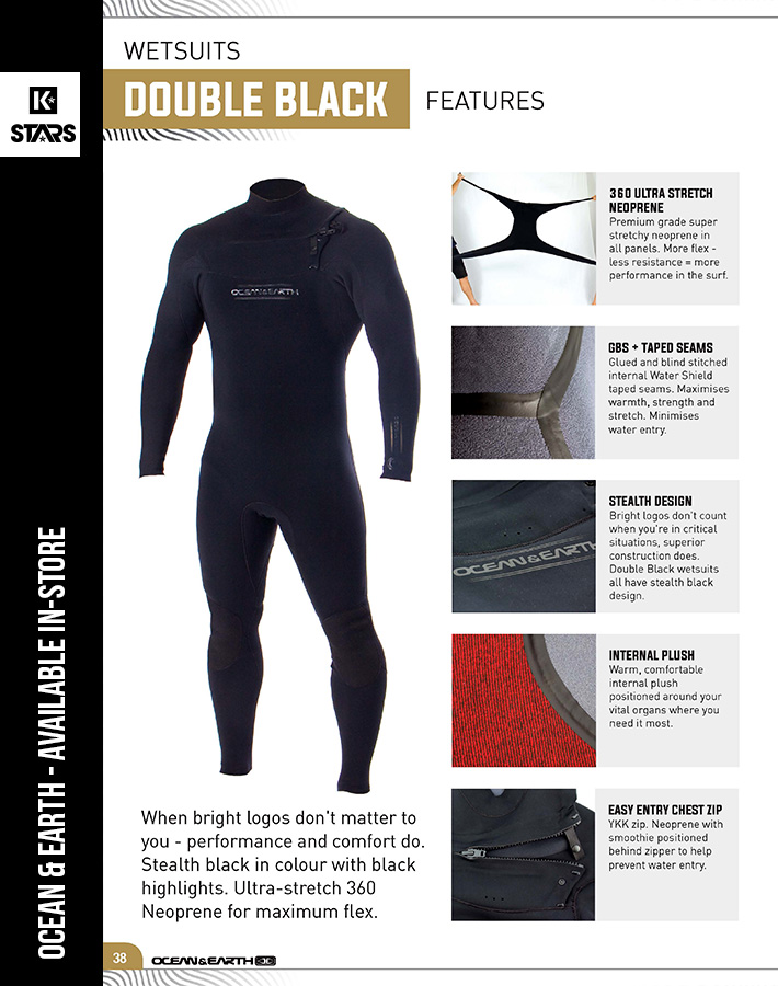 Ocean & Earth SUP Wetsuits available in-store