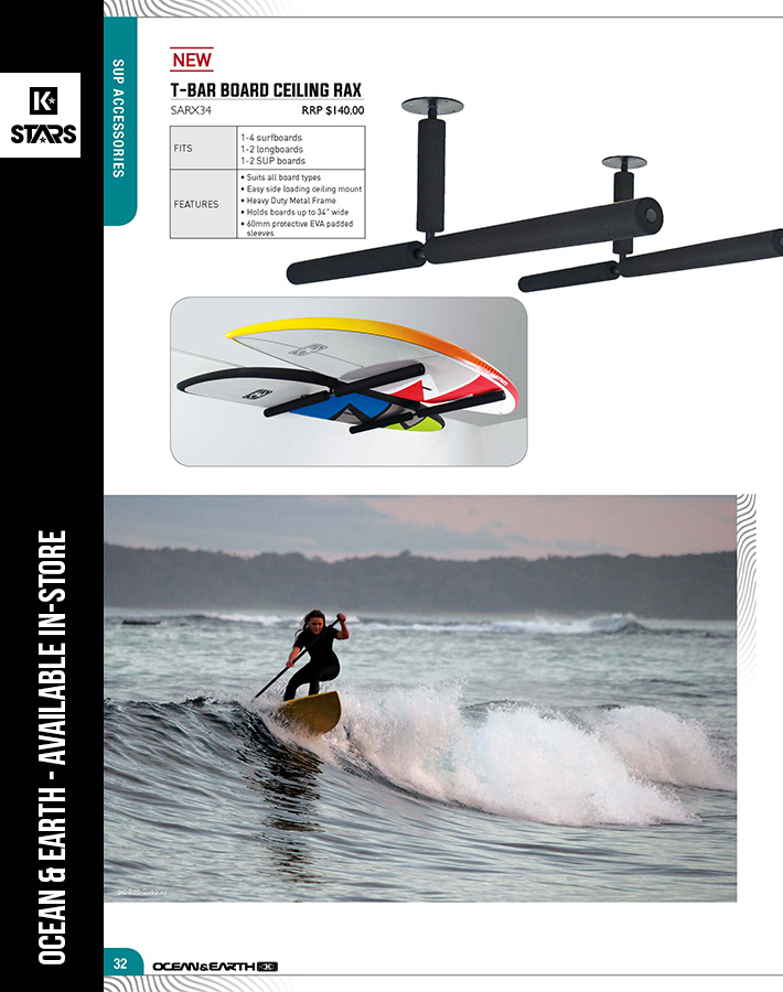 Ocean & Earth SUP Accessories available in-store