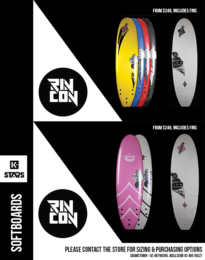 Rincon Softboards from $249