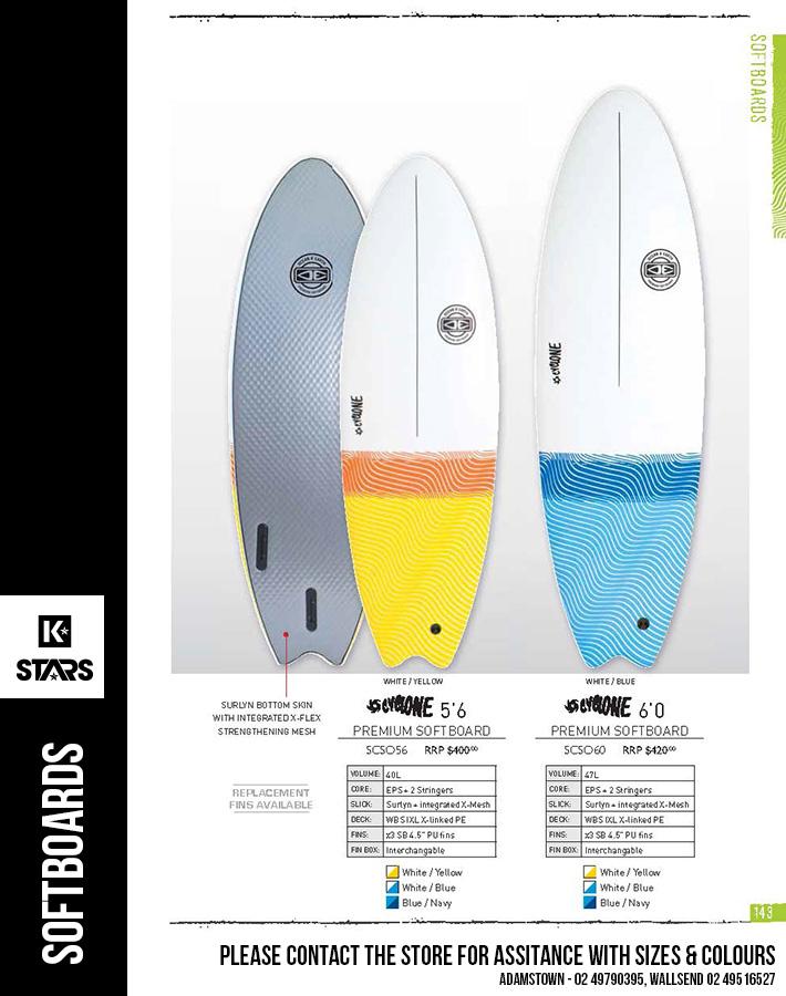 Ocean & Earth Softboards
